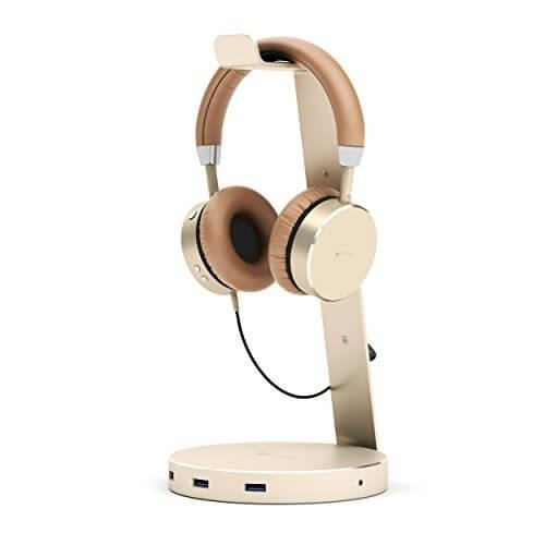 Headphone Stand Holder with Three USB 3.0 Ports