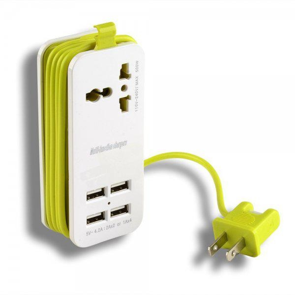 Input Portable Power Strip Travel Outlets