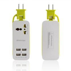 Input Portable Power Strip Travel Outlets2