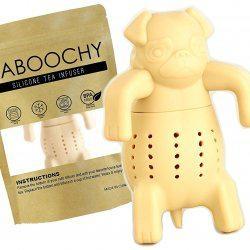 KABOOCHY Pug Life Silicone Tea Infuser