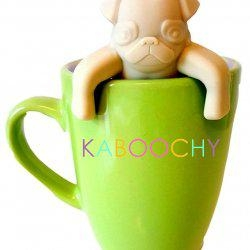 KABOOCHY Pug Life Silicone Tea Infuser3
