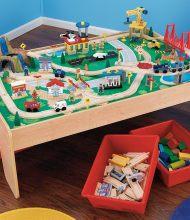 KidKraft Waterfall Mountain Train Set and Table2