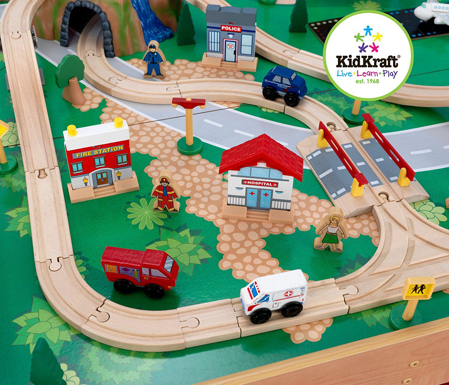 KidKraft Waterfall Mountain Train Set and Table. KidKraft ... & KidKraft Waterfall Mountain Train Set and Table Best Offer Reviews