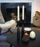 Luminara Pine Cone Candles Battery Operated3