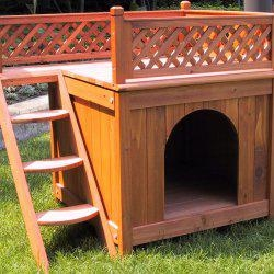 Merry Products Wood Pet Home2