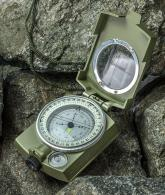 MilitaryLensatic Prismatic Sighting Compass with Pouch2