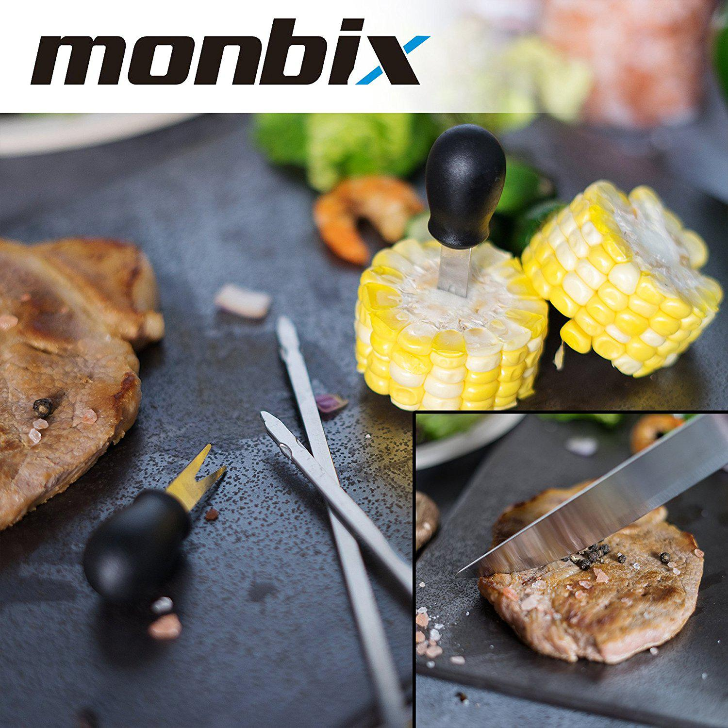 monbix bbq grill accessories 19 pieces best offer reviews. Black Bedroom Furniture Sets. Home Design Ideas