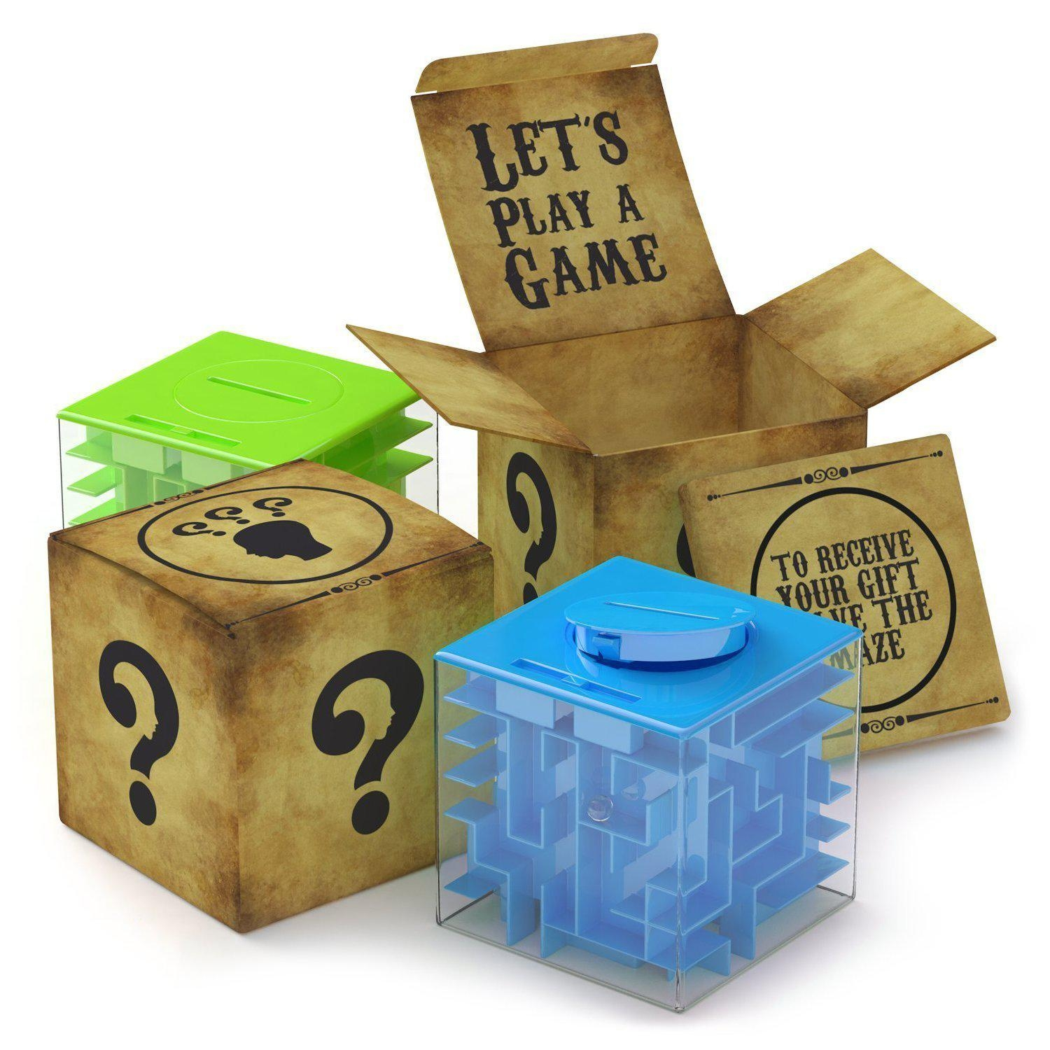 Money Maze Puzzle Box For Kids and Adults Best fer Money Maze