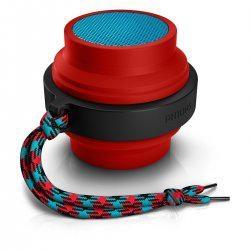 Philips Wireless Portable Speaker (Red)