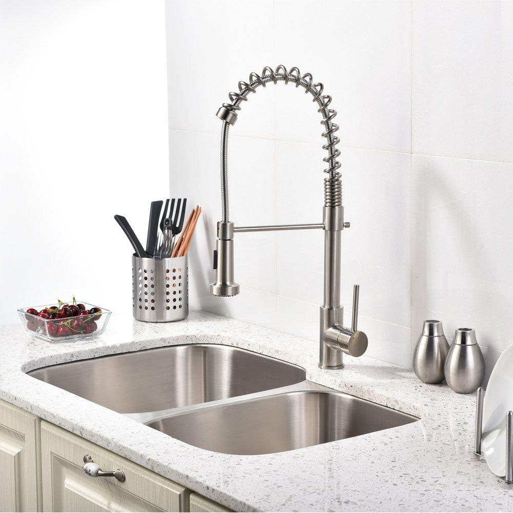 Single lever kitchen sink faucets best offer reviews for Best faucets for kitchen sink