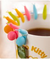 Snail Shaped Silicone Tea Bag Holder Cup3