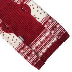 Vintage Holiday Festive Christmas Themed Dog Sweater
