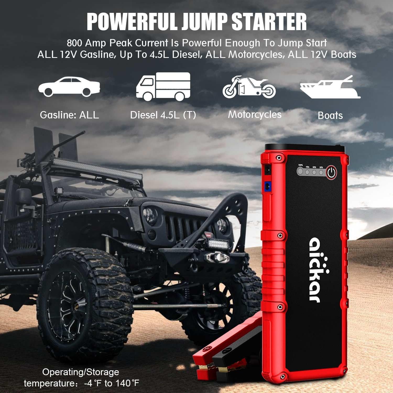 battery car jump starter best offer. Black Bedroom Furniture Sets. Home Design Ideas