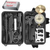 CHANGKU Emergency Survival Kits 11-in-1
