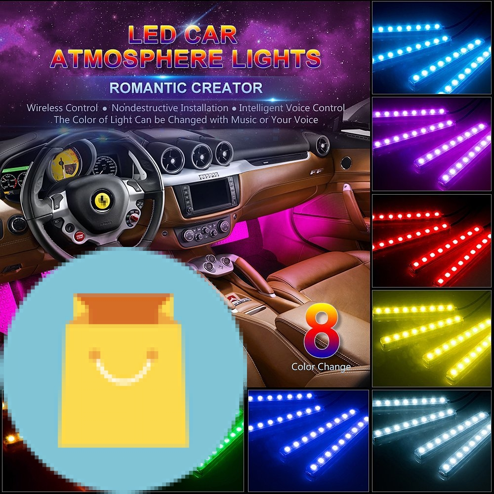 Car led strip light best offer reviews car led strip light mozeypictures Images