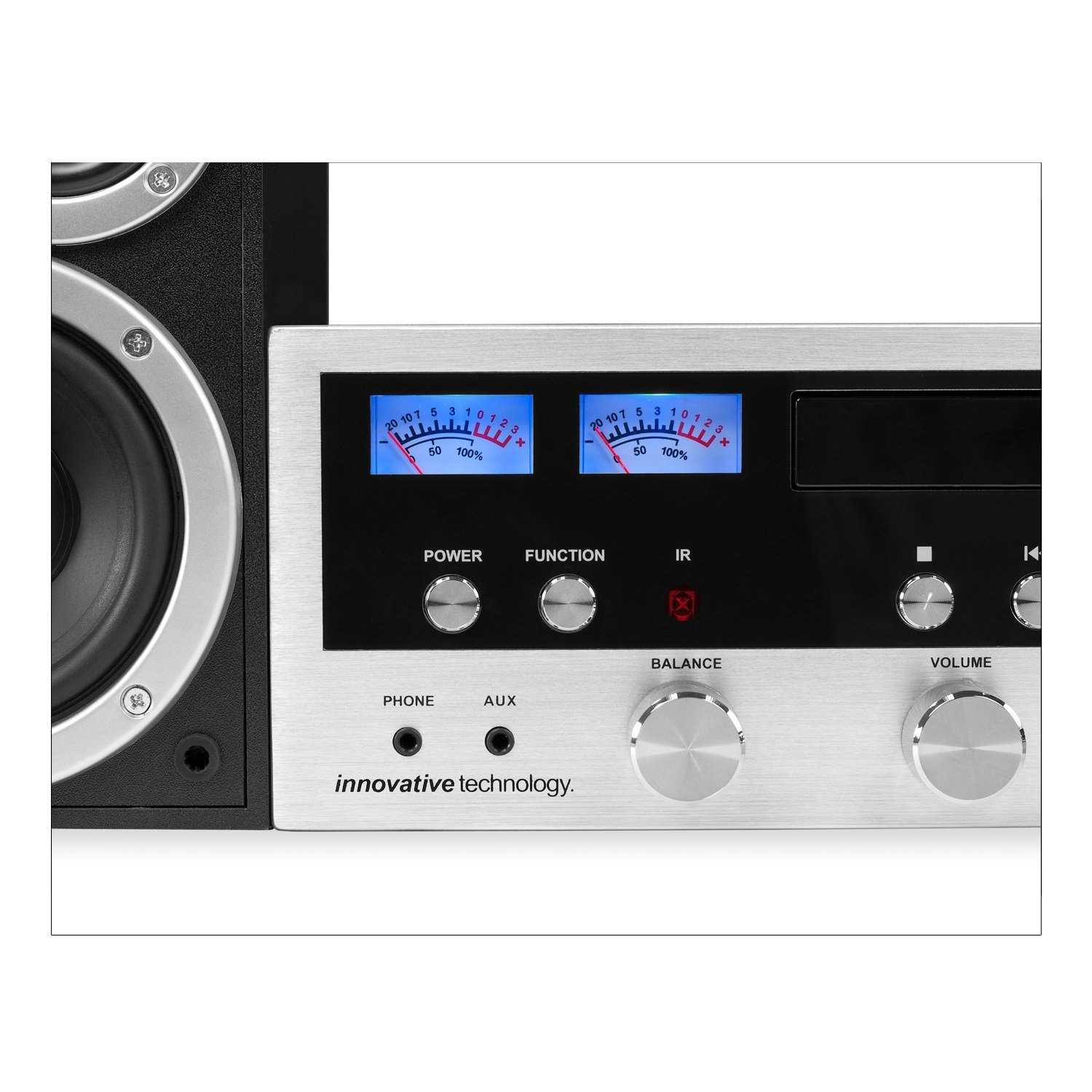 classic retro bluetooth stereo system with cd player best. Black Bedroom Furniture Sets. Home Design Ideas