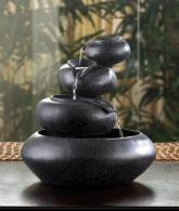 Decor 4-Tier Tabletop Water Fountain Decorative Sculpture2