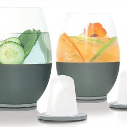 Dimple Self-chilling Stemless Wine Glasses2