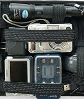 Gadget Organizer Manage Your Cable Cord Charger On Travel