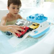 Green Toys Ferry Boat with Mini Cars Bathtub Toy3