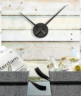 Karlsson Little Big Time Mini Wall Clock Black3
