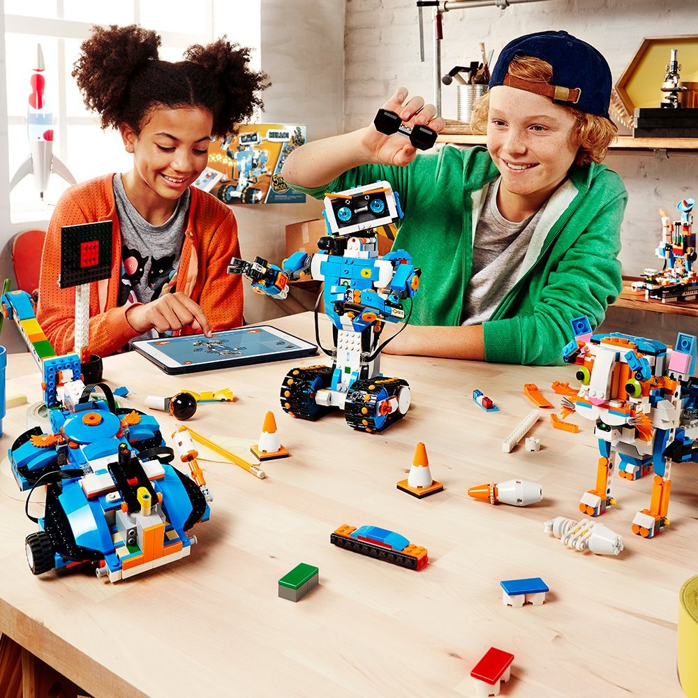 Best Coding Toys Reviewed : Lego boost creative toolbox building and coding kit