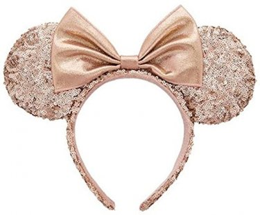 Minnie Mouse Ears Rose Gold Ineedthebestoffer Com