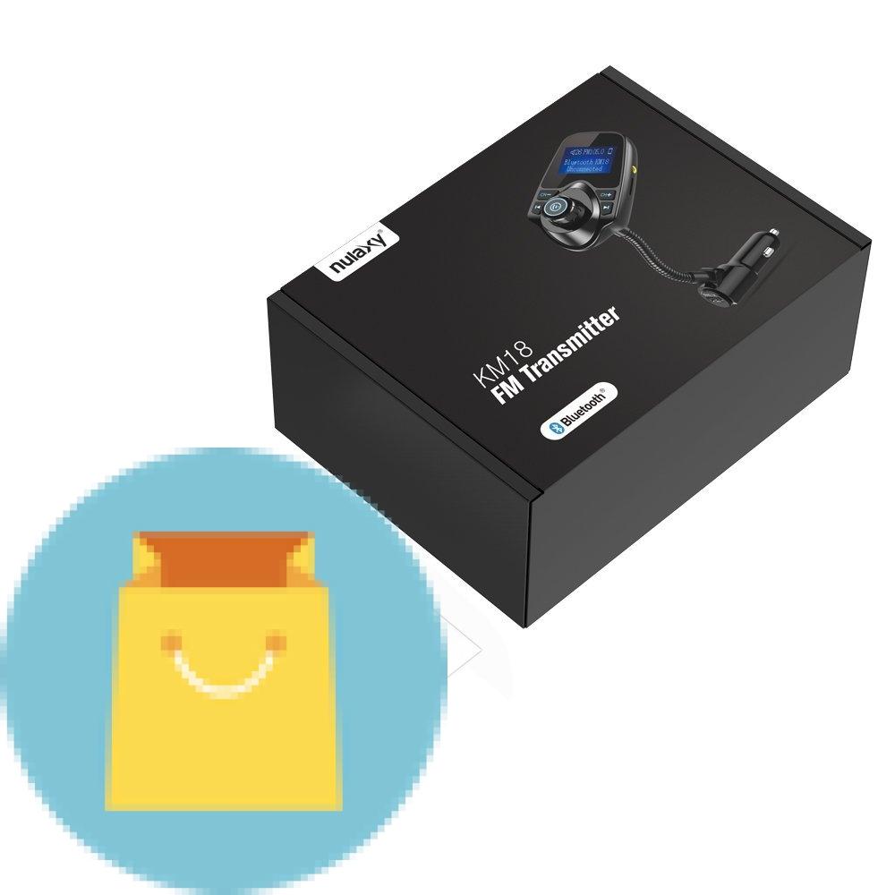 Nulaxy Wireless In Car Bluetooth Fm Transmitter Best Buy