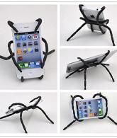Portable Spider Flexible Grip Holder for Smartphones and Tablets