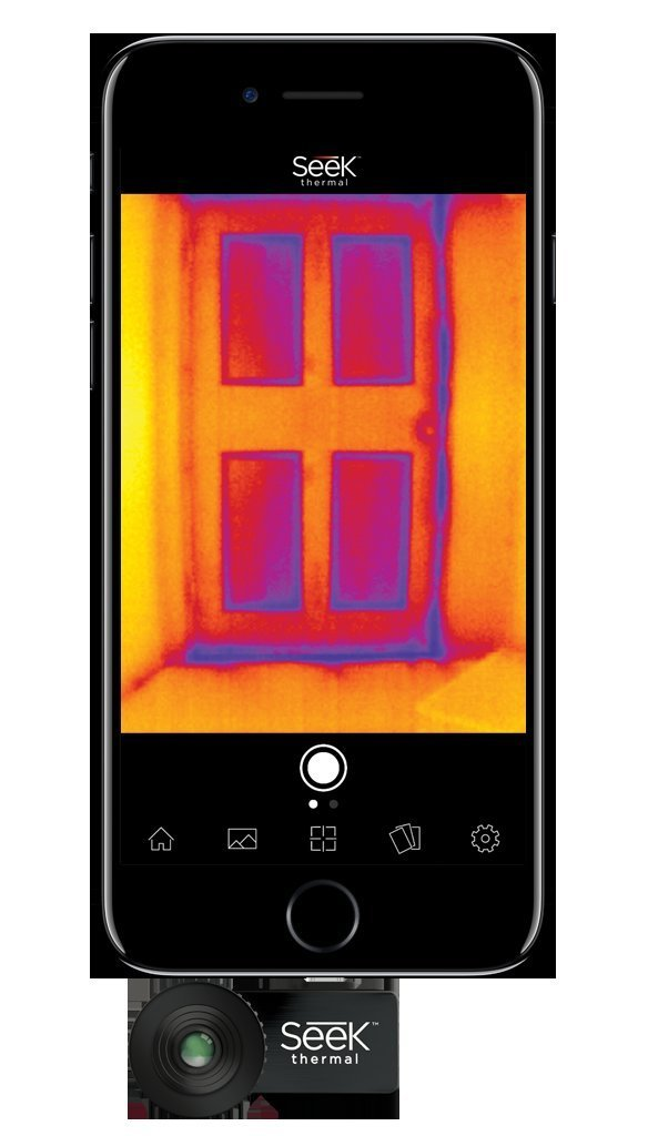 Seek thermal compact imager for ios apple best offer reviews for Thermal windows reviews