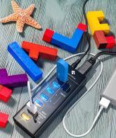 SmartDelux Powered USB Hub - 7-Port USB 3.0
