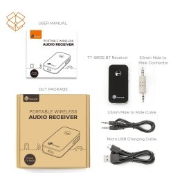 TaoTronics Bluetooth Receiver Car Kit