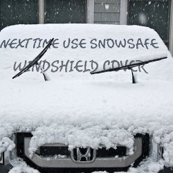 Windshield Snow Cover - Best Auto Ice Guard