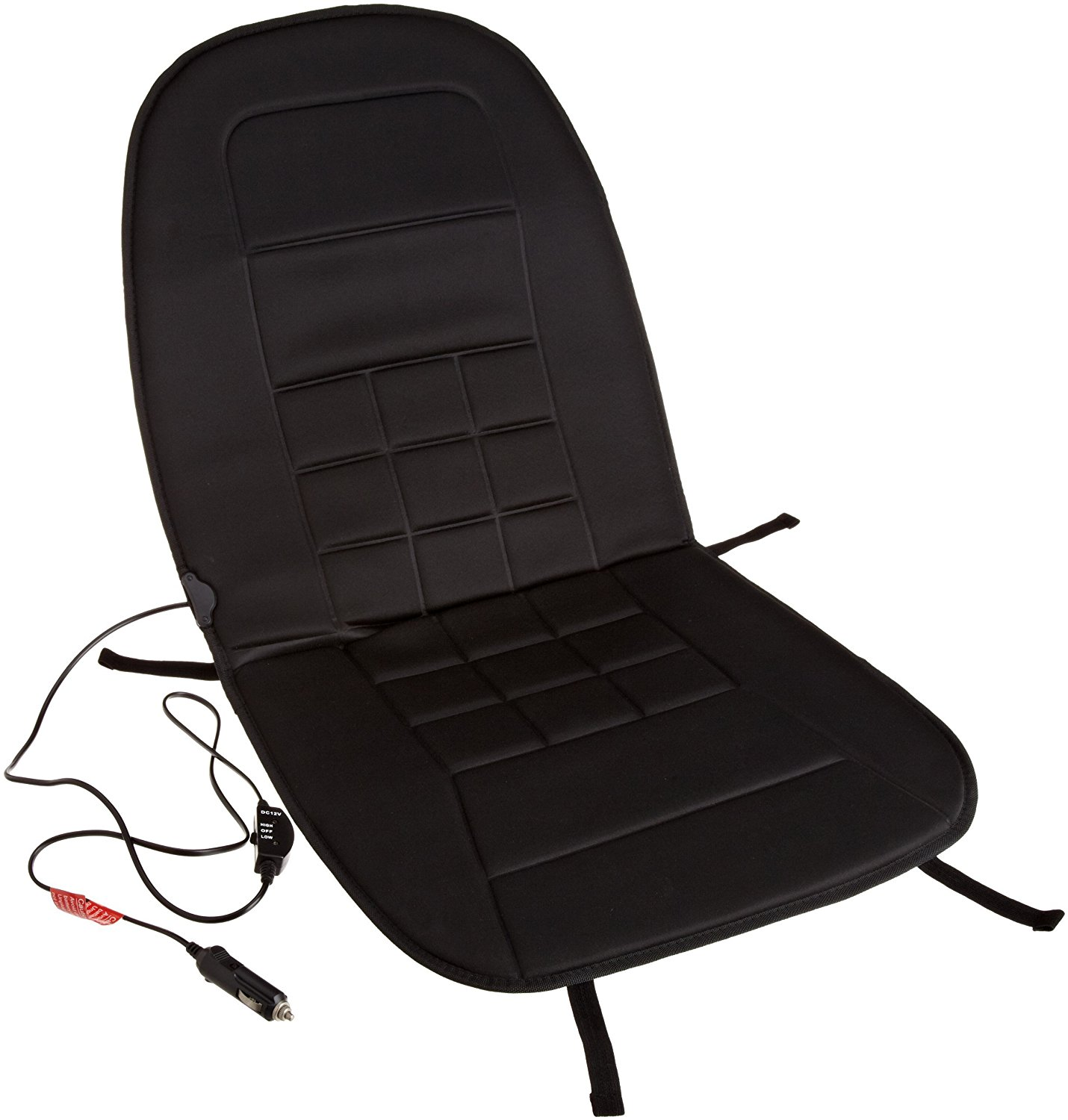 12-Volt Heated Seat Cushion With 3-Way Temperature