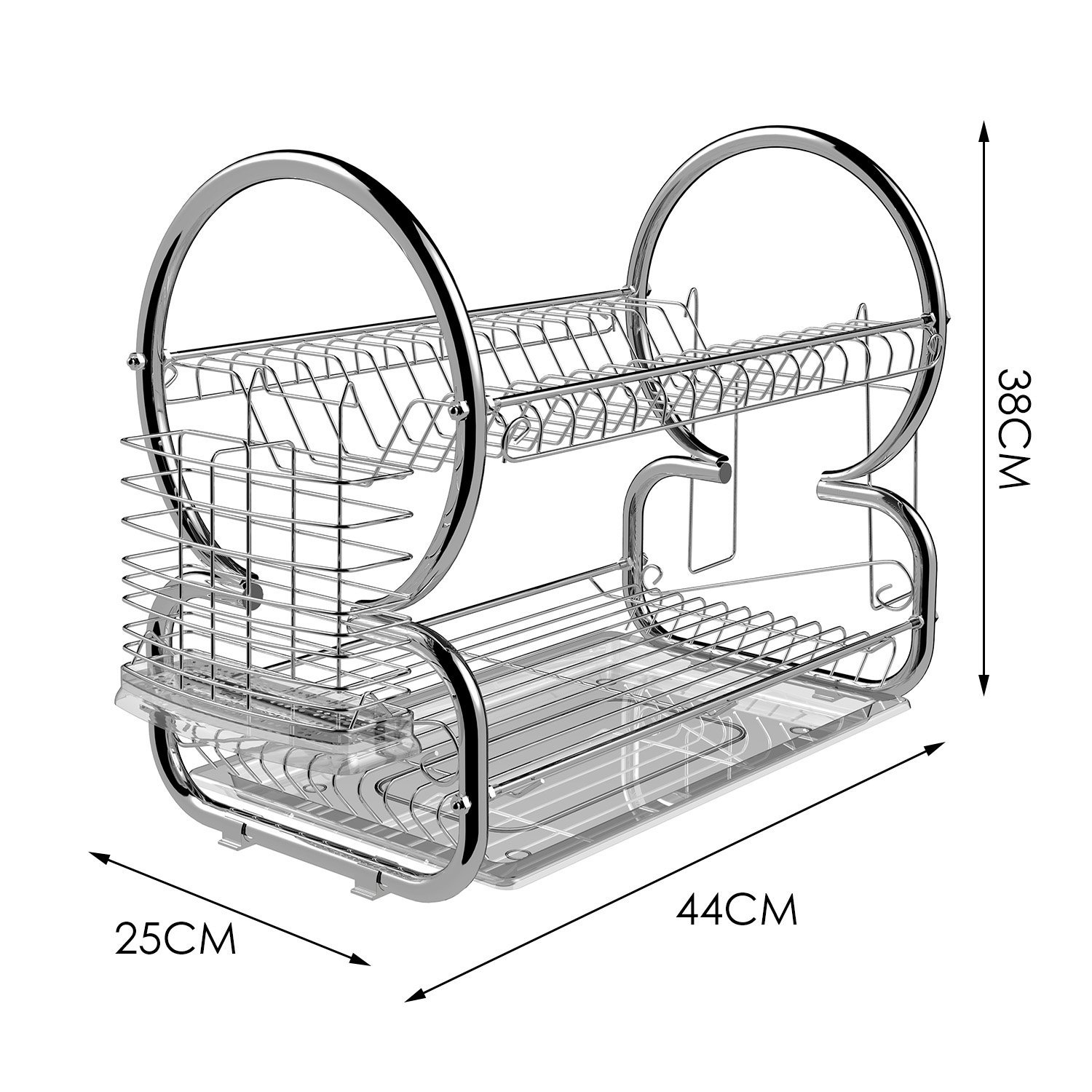 stainless steel dish rack 2 tier stainless steel dish rack cup drying rack best offer 29087