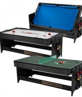 3-in-1 Air Hockey, Billiards, and Tennis Table