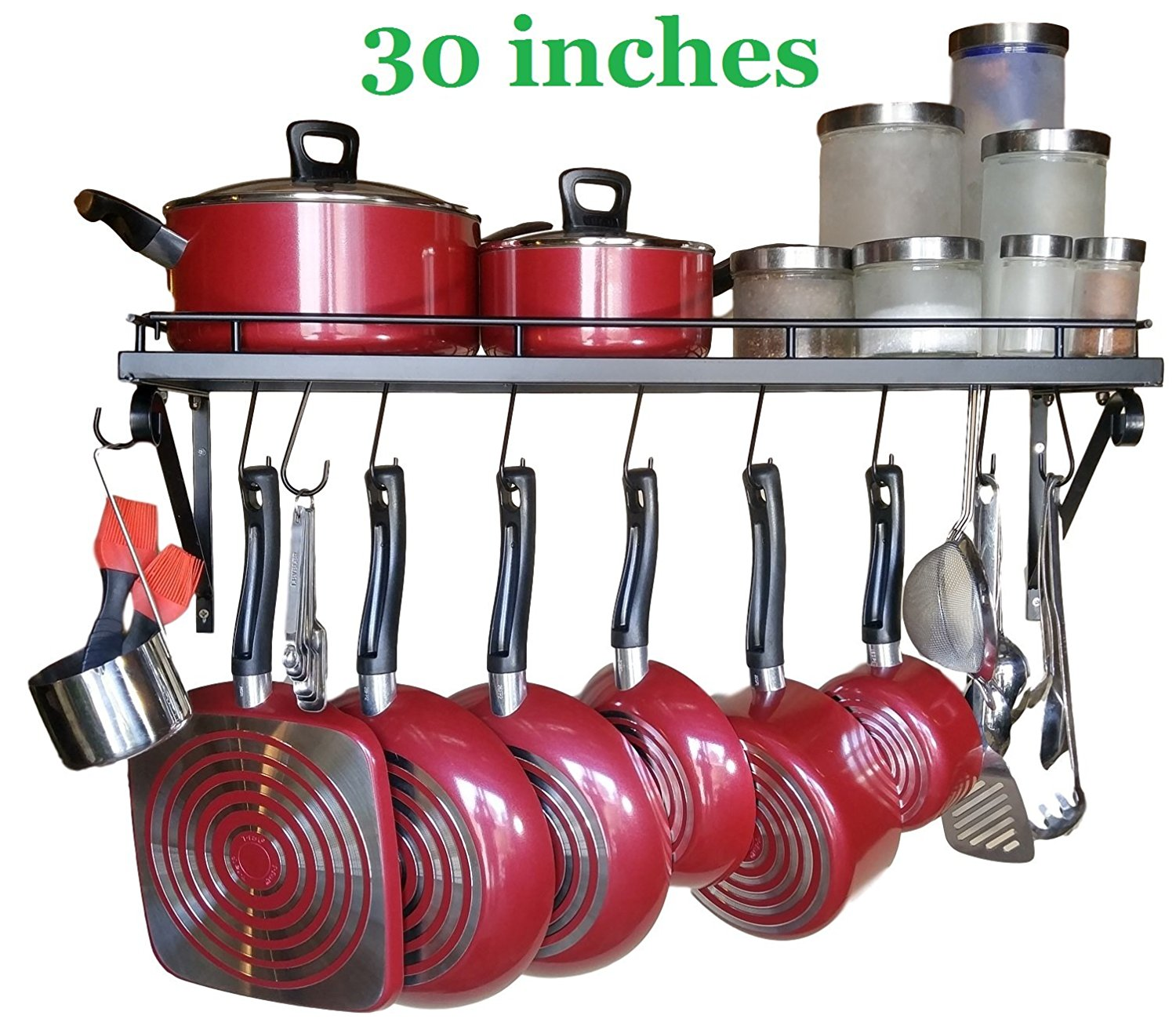 30 Wall Mounted Pots And Pans Rack Best Offer Reviews
