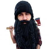 Barbarian Roadie Knit Beard Hat