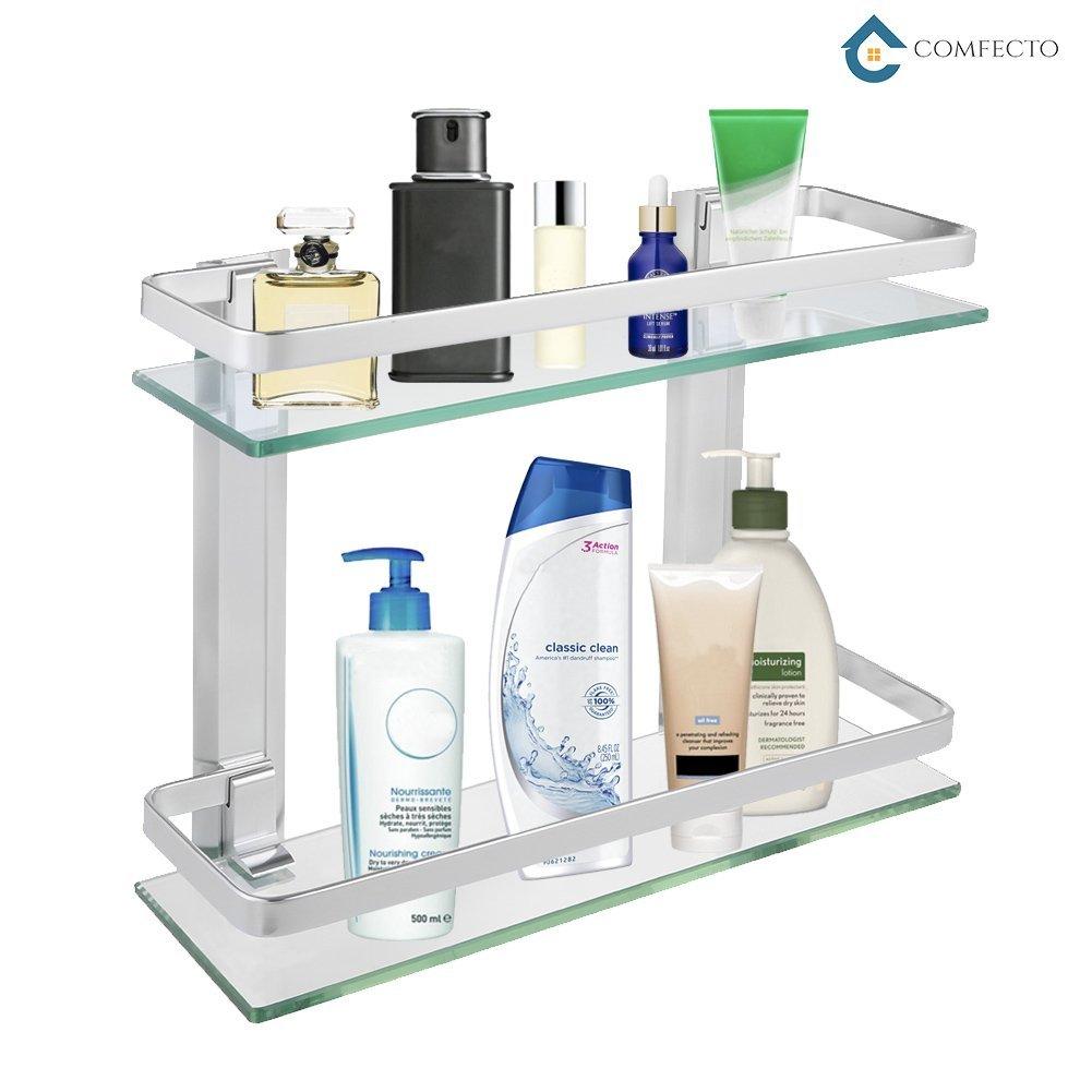 Bathroom Glass Shelf Shower Organizer Best Offer