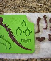 Chocolate Candy Dinosaur Building Mold4