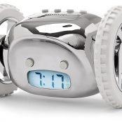 Clocky, The Original Runaway Alarm Clock on Wheels