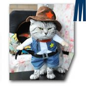 Cowboy Outfit Clothing for dogs and cats3