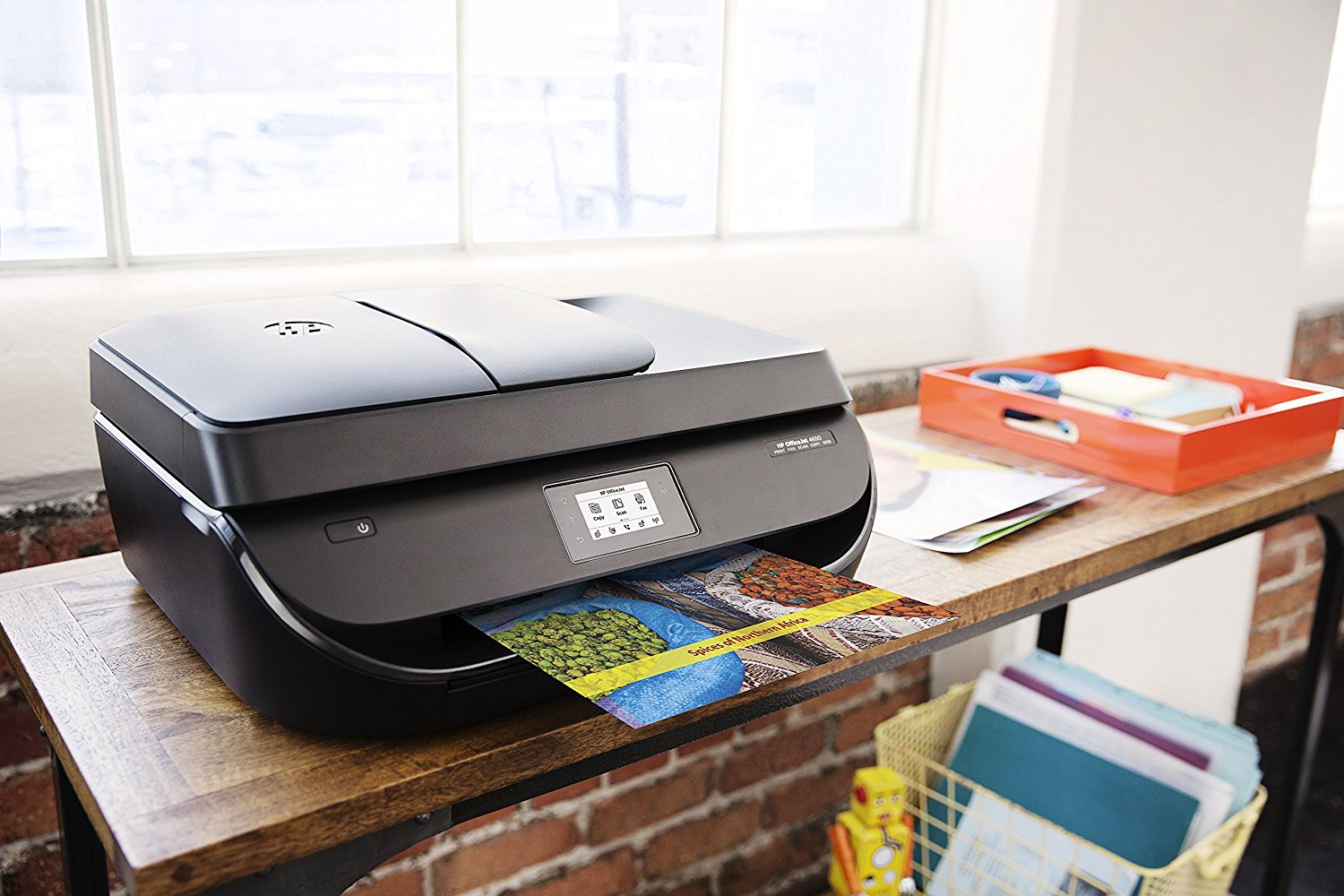 Hp officejet 4650 wireless all in one photo printer best for Best home office multifunction printers
