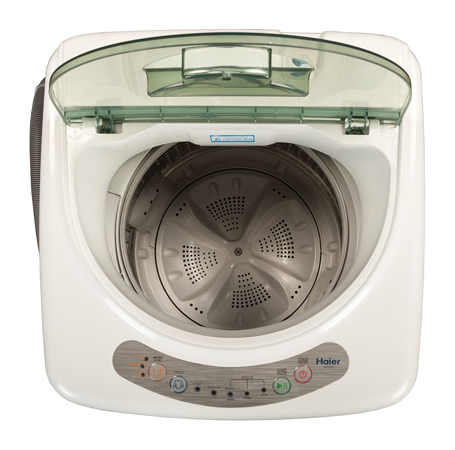 haier hlp21n pulsator 1 cubic foot portable washer manual