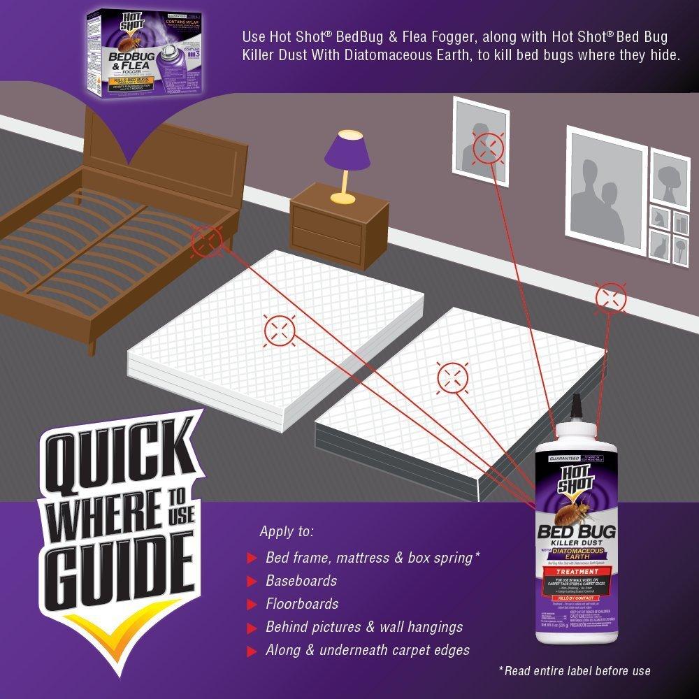 Hot Shot Bed Bug Powder Reviews