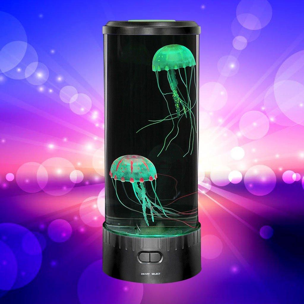 Jelly fish tank aquarium mood lamp best offer reviews for Fish tank review