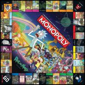 Monopoly Rick & Morty Board Game3