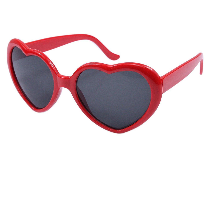 Oversized Heart Shaped Retro Sunglasses Best Offer