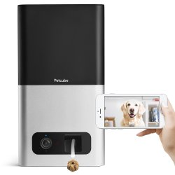 Petcube Bites Wi-Fi Pet Camera with Treat Dispenser(As seen on Ellen)2