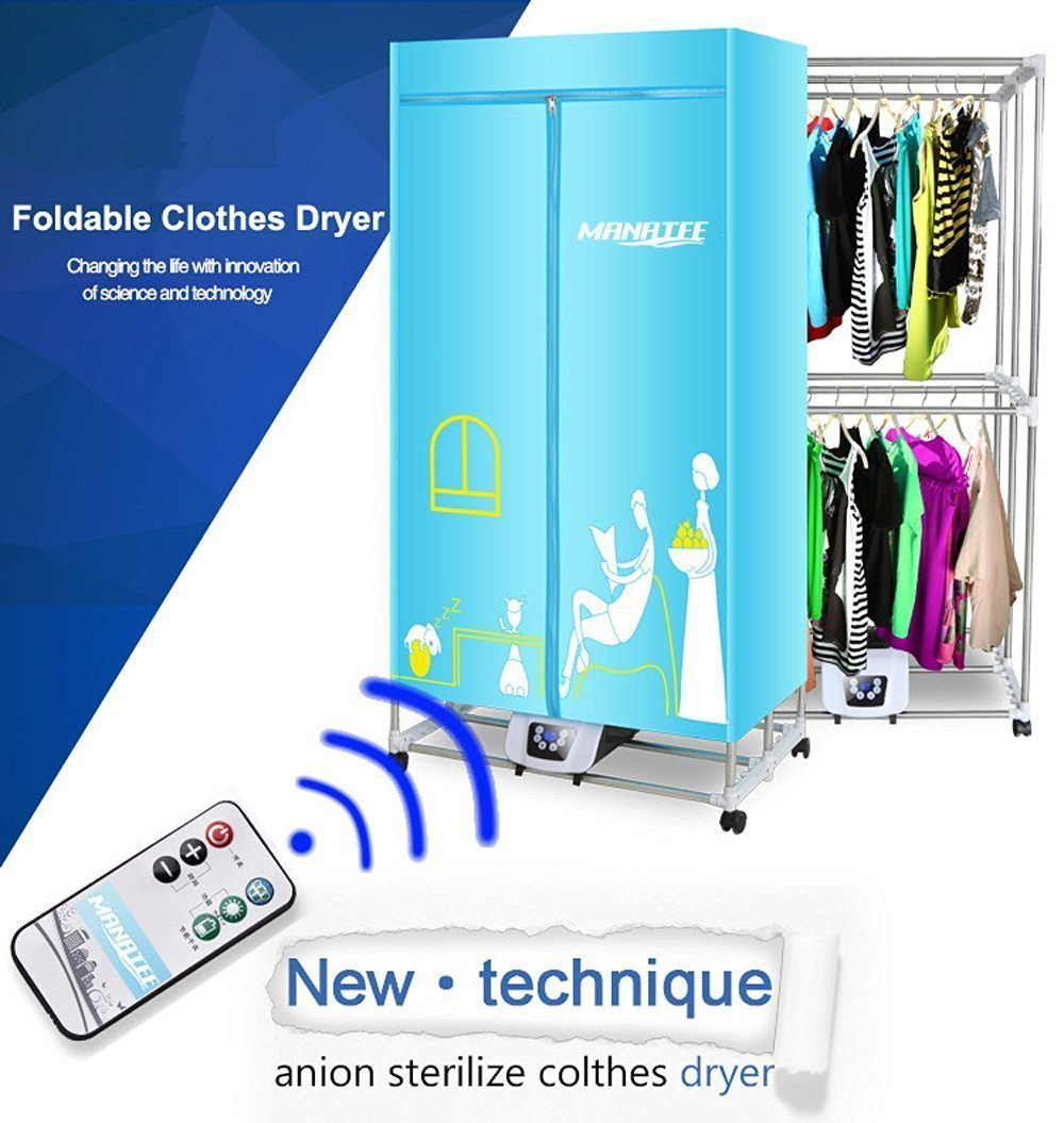 Portable clothes dryer 1200w electric laundry drying rack - Porta poster amazon ...